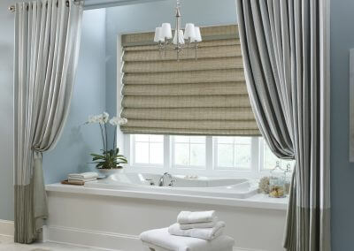 Beautiful Spa Window Treatment